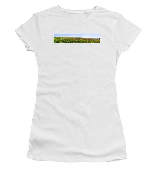 Purple Hills Women's T-Shirt (Athletic Fit)