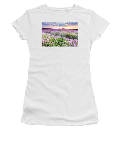 Purple Sea Women's T-Shirt