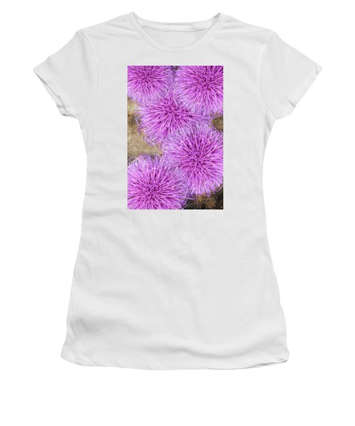 Purple Thistle - 2 Women's T-Shirt