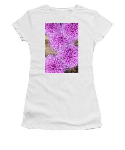 Purple Thistle - 2 Women's T-Shirt
