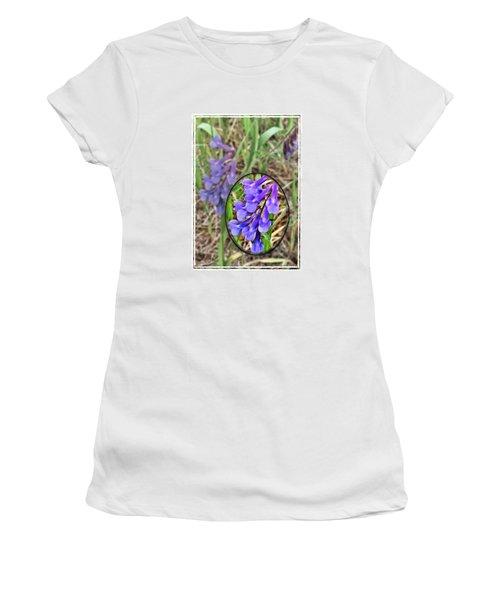 Purple Wildflowers Women's T-Shirt