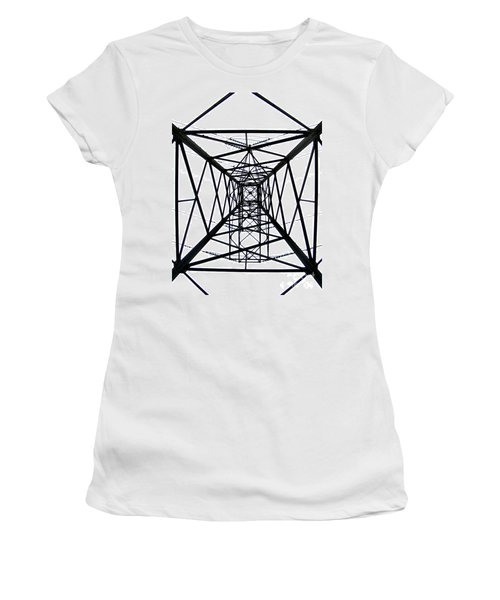 Pylon Women's T-Shirt (Junior Cut) by Nina Ficur Feenan