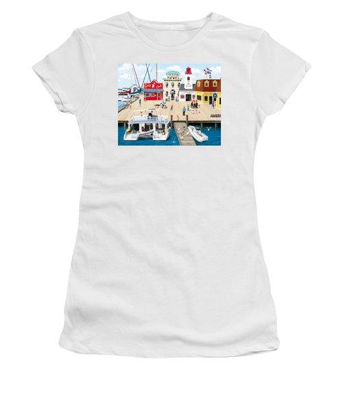 Quartet At The Quay Women's T-Shirt (Athletic Fit)