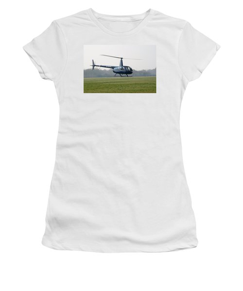 R44 Raven Helicopter Women's T-Shirt (Athletic Fit)