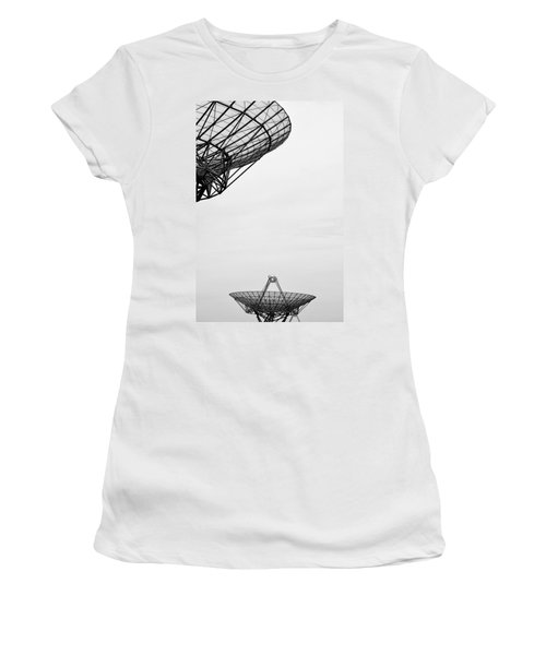 Radiotelescope Antennas.  Women's T-Shirt (Athletic Fit)