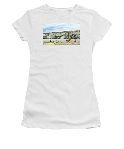 Rafters Loading Helicopter Women's T-Shirt