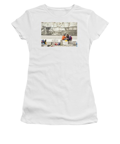 Rafters Playing Cards While Waiting Women's T-Shirt