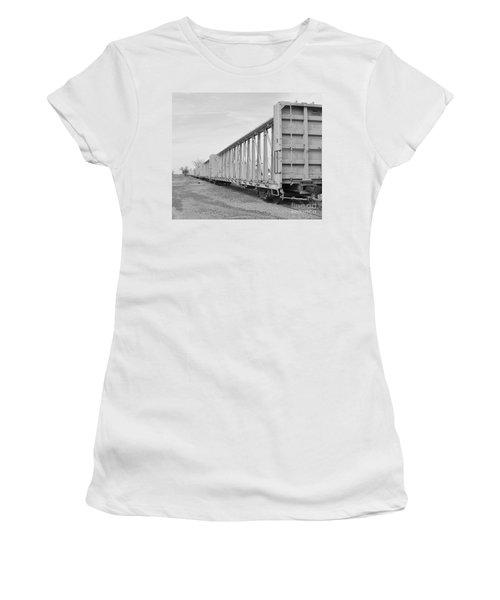 Rail Cars Women's T-Shirt (Athletic Fit)
