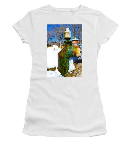 Rainbow Pipe Women's T-Shirt (Athletic Fit)