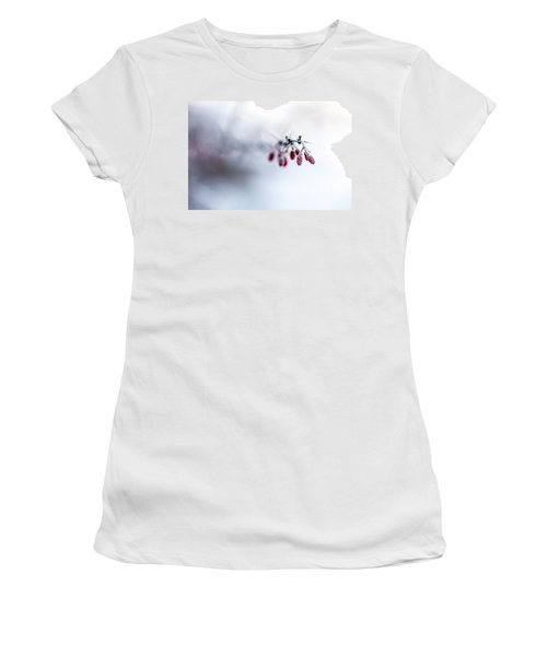 Reaching Out Women's T-Shirt (Junior Cut) by Aaron Aldrich