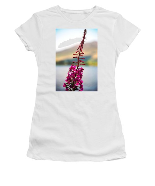 Reaching To The Sky Women's T-Shirt