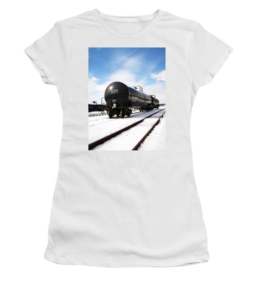Ready To Go Women's T-Shirt (Junior Cut) by Sara  Raber