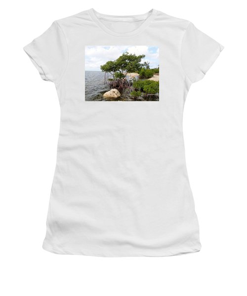 Women's T-Shirt (Junior Cut) featuring the photograph Reclamation 9 by Amar Sheow