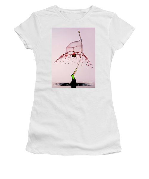 Red And Green Women's T-Shirt