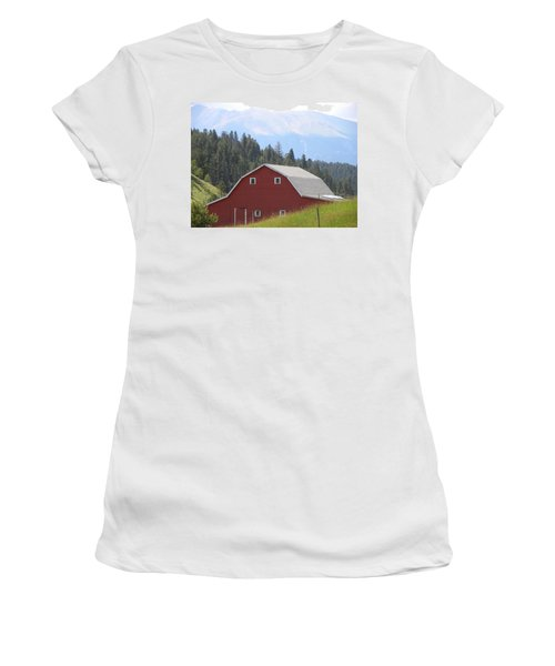 Barn - Pikes Peak Burgess Res Divide Co Women's T-Shirt