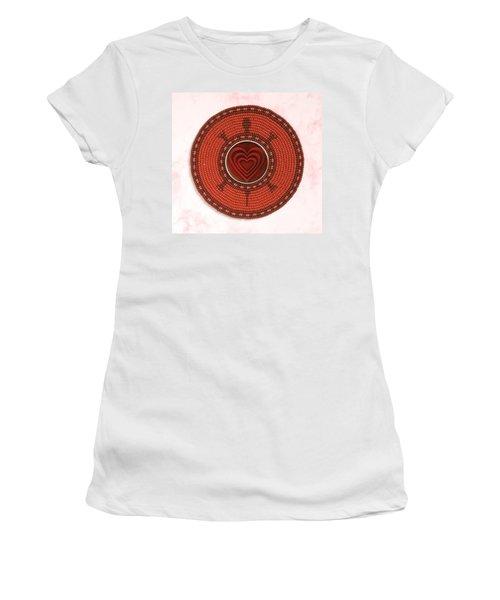 Red Heart Turtle Women's T-Shirt