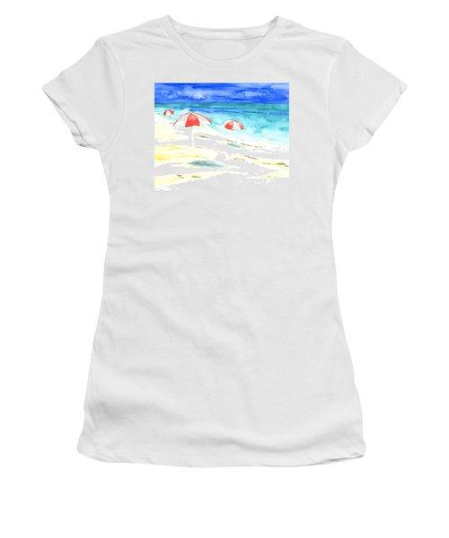 Red Stripes Women's T-Shirt