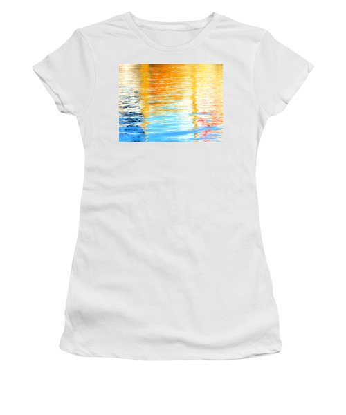 Reflections Of The Setting Sun Women's T-Shirt (Athletic Fit)