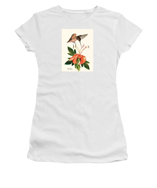 Refueling In Flight Women's T-Shirt