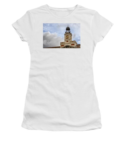 Reloj De Gobernacion 1 Women's T-Shirt (Athletic Fit)