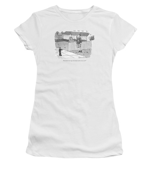 Remember How Big And Clunky The First Ones Were? Women's T-Shirt