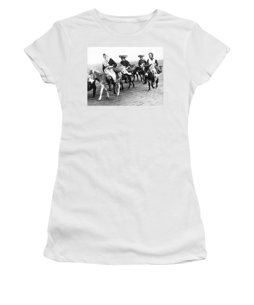 Riding For Cockles In Wales Women's T-Shirt