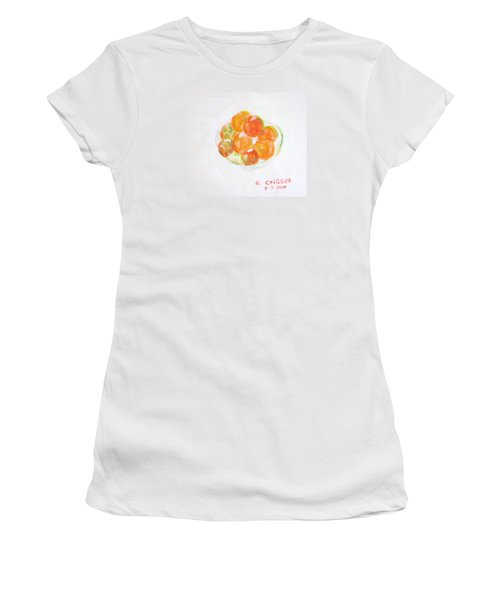 Ripening Tomatoes Women's T-Shirt (Athletic Fit)