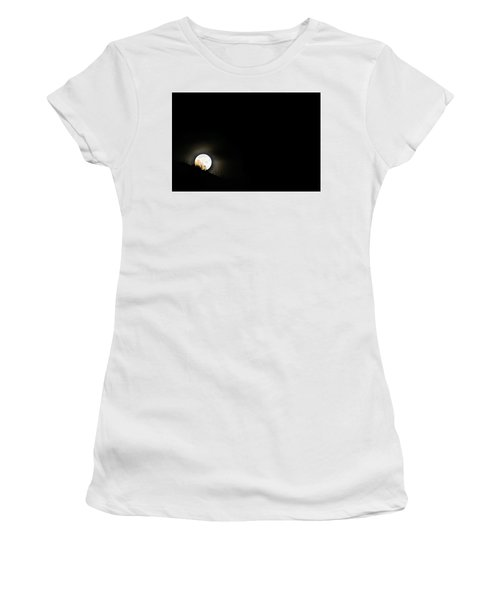 Rising Moon Women's T-Shirt (Junior Cut) by Joel Loftus