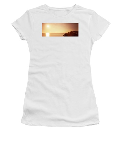 Rock Jetty Leading Into Fort Lauderdale Women's T-Shirt