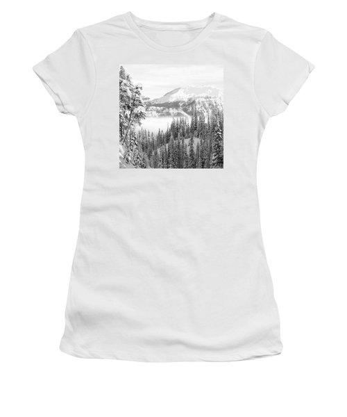 Rocky Mountain Vista Women's T-Shirt (Junior Cut) by Cheryl Miller