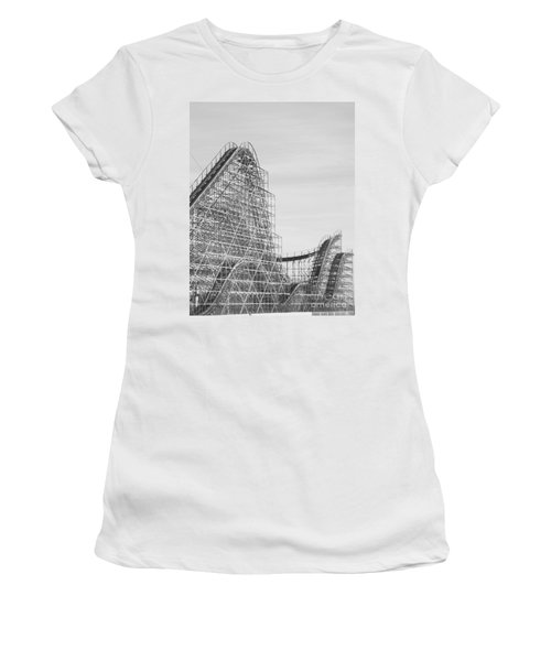 Roller Coaster Wildwood Women's T-Shirt (Athletic Fit)