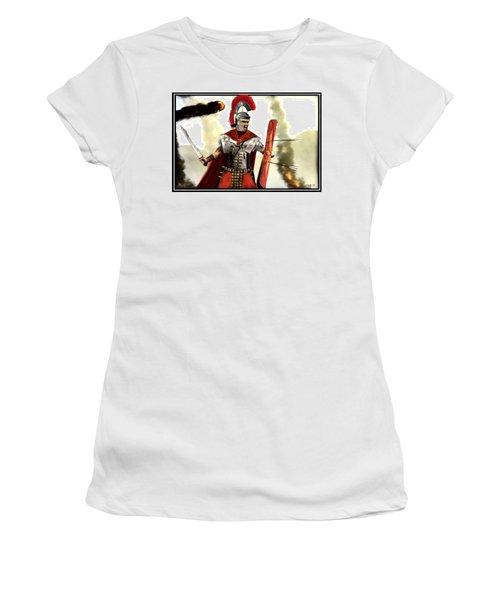 Roman Centurion Women's T-Shirt (Junior Cut) by John Wills