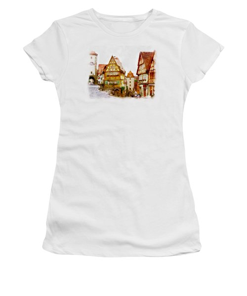 Rothenburg Women's T-Shirt (Athletic Fit)