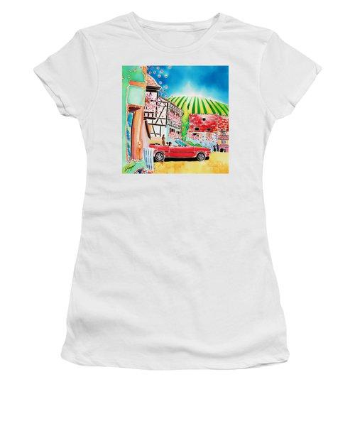 Route Des Vins Women's T-Shirt