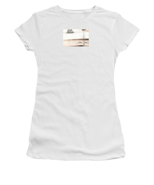Sailing Into The Past Women's T-Shirt (Athletic Fit)
