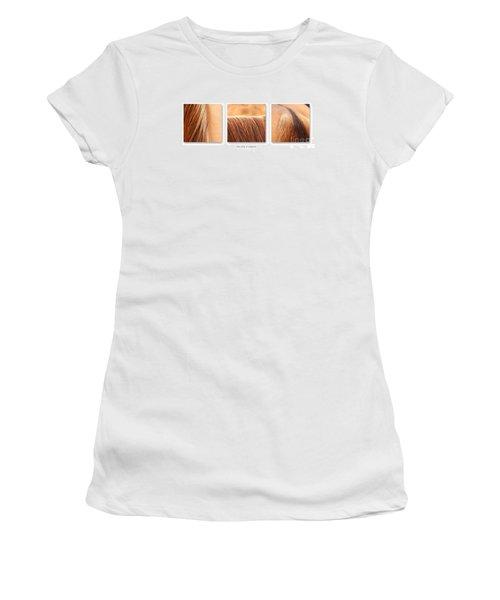 Salon D'equus Light Women's T-Shirt (Junior Cut) by Michelle Twohig