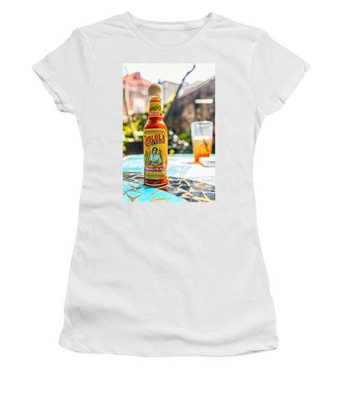 Salsa Caliente Women's T-Shirt (Junior Cut) by Sennie Pierson