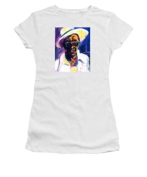 Sam Hopkins Women's T-Shirt (Junior Cut) by Les Leffingwell