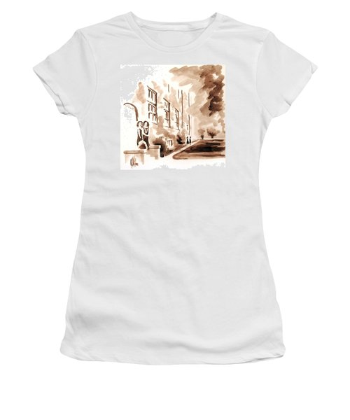 School Days At Ursuline Women's T-Shirt (Junior Cut) by Kip DeVore