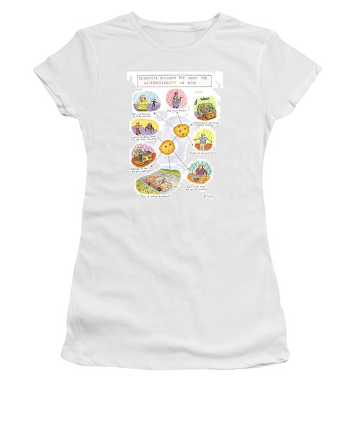 Scientists Discover The Gene For Heterosexuality Women's T-Shirt