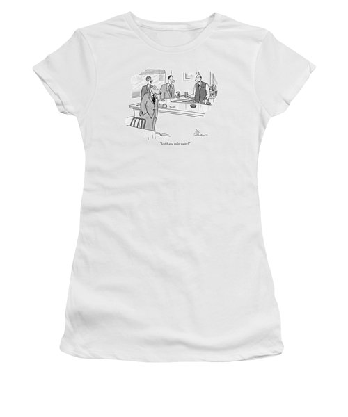 Scotch And Toilet Water? Women's T-Shirt