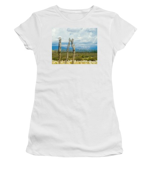 Sculpture In The Andes Women's T-Shirt (Athletic Fit)