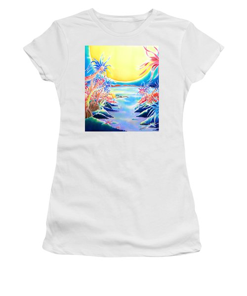 Seashore In The Moonlight Women's T-Shirt