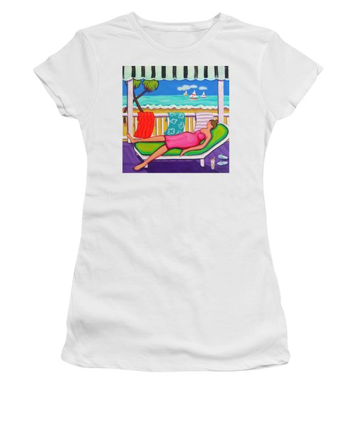 Seaside Siesta Women's T-Shirt (Athletic Fit)