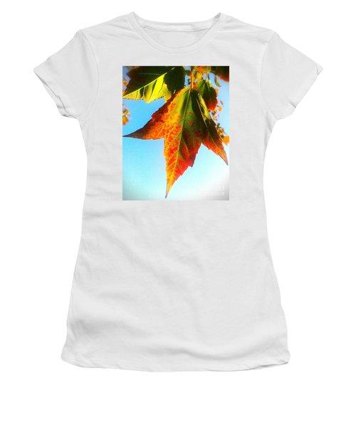 Season's Change Women's T-Shirt (Junior Cut) by James Aiken
