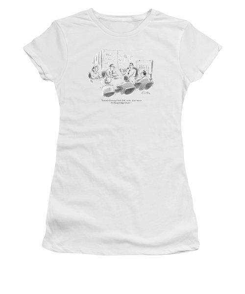 'season's Greetings' Looks O.k. To Me. Let's Run Women's T-Shirt