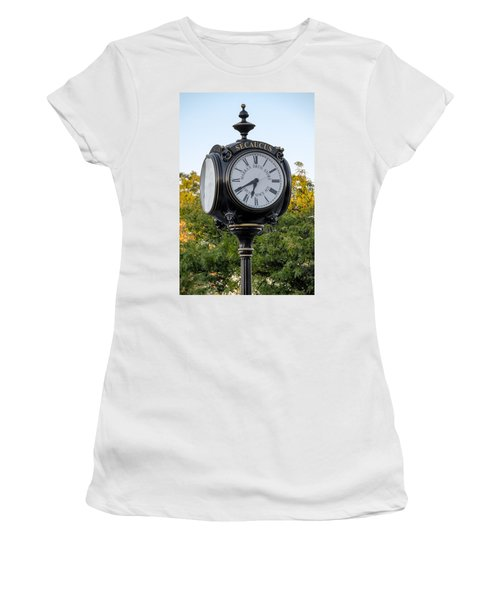 Secaucus Clock Marras Drugs Women's T-Shirt