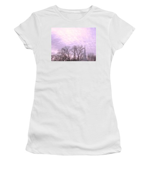 Women's T-Shirt (Junior Cut) featuring the photograph Serenity by Pamela Hyde Wilson