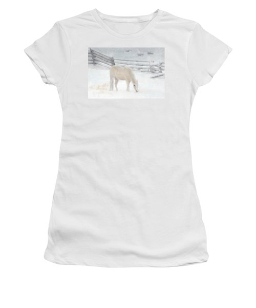 Shades Of Pale Women's T-Shirt (Junior Cut) by Ed Hall