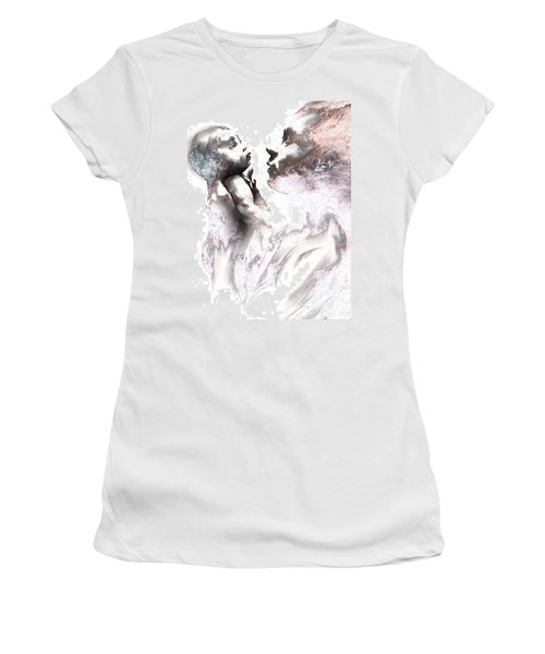 Shadowtwister Reflections Textured Women's T-Shirt (Junior Cut) by Paul Davenport